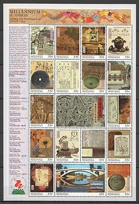 X232 Micronesia Millennium 1000-2000 Science&technology Of Ancient China Sh Mnh