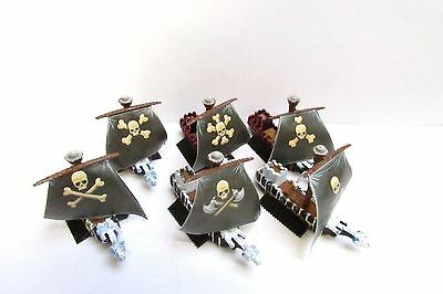 OOP Citadel / Warhammer Man O' War Chaos Pirate Fleet
