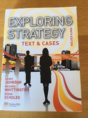 exploring corporate strategy text and cases 10th edition pdf