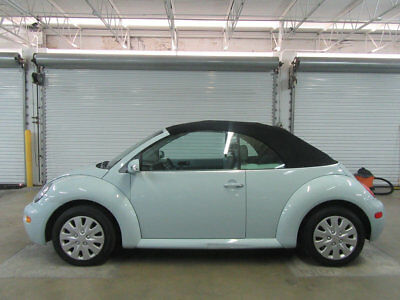 2005 Volkswagen Beetle-New 2dr GL Manual 53,000 MILES 5SPEED MANUAL CONVERTIBLE CLEAN CARFAX NONSMOKER STUNNING CALLBRYAN