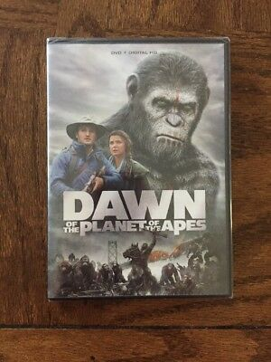 Dawn of the Planet of the Apes (DVD, 2017) Brand New Sealed #MF