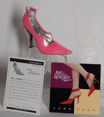 1 NEW Scandalous Just the Right Shoe Raine #25316 in box from 2002