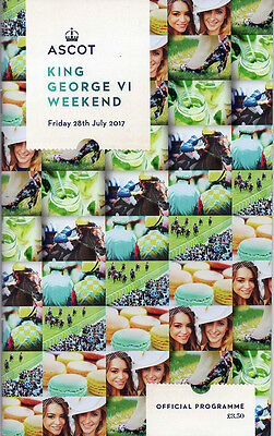 Race Cards: Ascot 28 July 2017