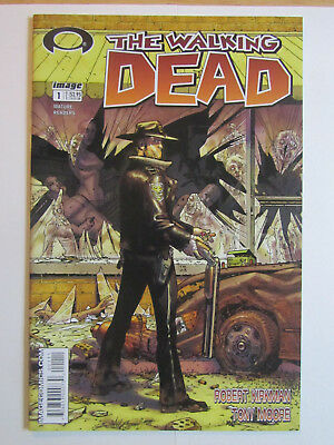 THE WALKING DEAD 1 Image Comics (2003) First Print White Label Near Mint NM 1st