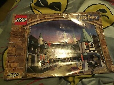 Instruction Booklet For Harry Potter Lego 4730