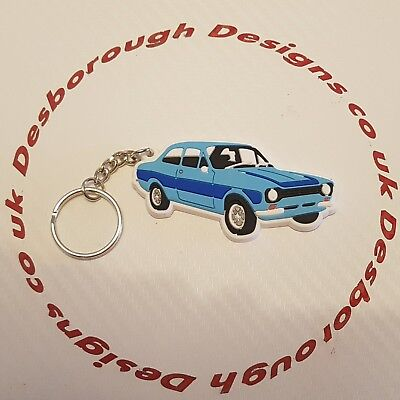 MK1 Escort Key Ring Dark Blue & Blue Key Ring