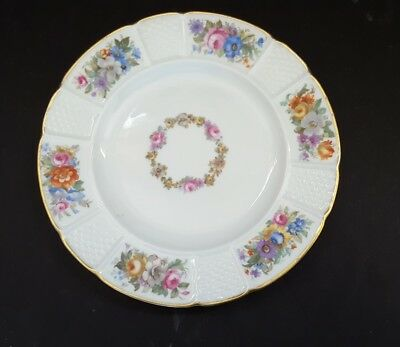 "Set of 7 Antique (1923)  Rosenthal Barrock 7 3/4"" Salad Plates near perfect"