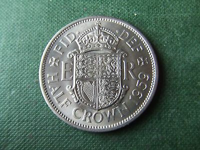 Elizabeth Ii.   1959, Halfcrown.   Rare Date.    Superb Condition.