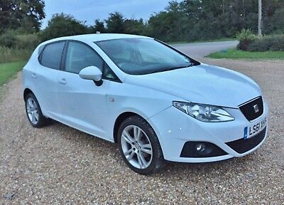 2011 Seat Ibiza 1.4 Se Copa White,genuine 26K 1 Lady Owner From New Sh