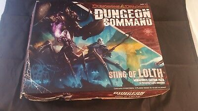Dungeon Command Sting of Lolth Dungeons & Dragons