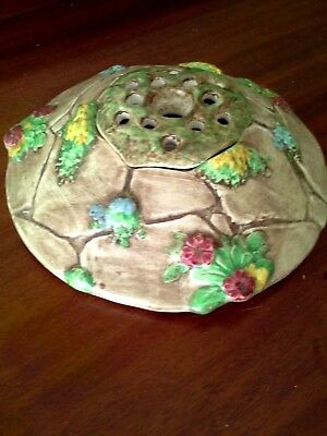 Vintage English Falcon Ware Table Centre Called 'the Wishing Well'