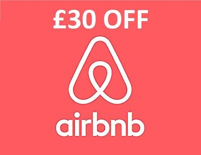 **FREE £30 OFF AIRBNB CREDIT DISCOUNT VOUCHER PROMO CODE ** No need to purchase