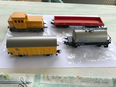 Marklin HO Scale Loco and Wagons from Starter Set