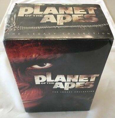 BRAND NEW SEALED Planet of the Apes Legacy Box Set DVD 2006 6-Disc Set 6 Movies!