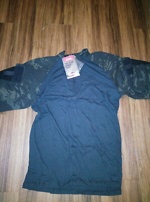 TRU-SPEC Multicam Black Combat Shirt - LARGE LONG - NEW WITH TAGS