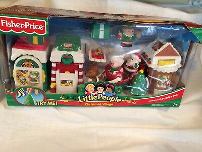 Fisher-Price Little People Christmas Village NEW In Box Never Played With
