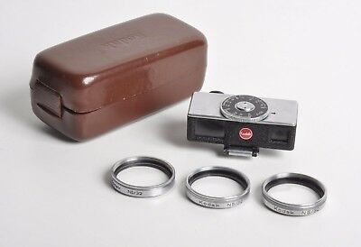 Kodak Retina Close-up Rangefinder with 3 lenses and case, good working condition