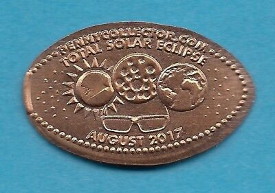Elongated Penny - Total Solar Eclipse - August 2017