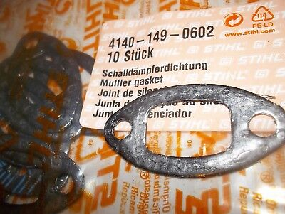 Genuine Stihl Hs45 Petrol Hedge Trimmers Exhaust Gasket  4140-149-0602 (New)