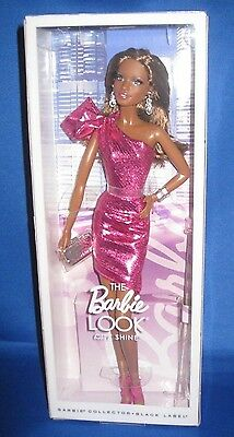 Barbie Collector City Shopper Aa  Barbie Look  Doll City Shine Pink Fashion, New
