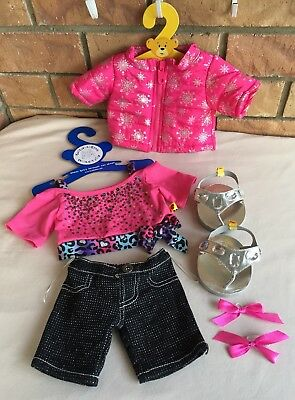 BUILD A BEAR Outfit & Shoes...NEW...Genuine