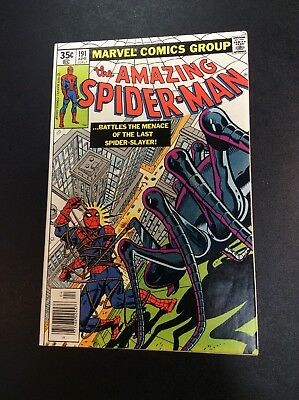 Amazing Spider-Man #191 Bronze Age Marvel Comic Book Wolfman Pollard Milgrom '79