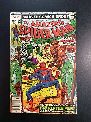 Amazing Spider-Man #166 Bronze Age Marvel Comic Book Wein Andru Romita 1976