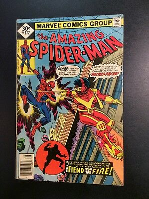Amazing Spider-Man #172 Bronze Age Marvel Comic Book Wein Andru ROCKET RACER '77