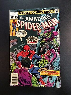 Amazing Spider-Man #180 Bronze Age Marvel Comic Book Wein Andru Green Goblin '78