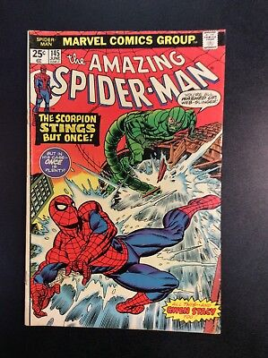 Amazing Spider-Man #145 Bronze Age Marvel Comic Book Conway Andru Kane 1975