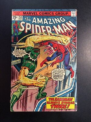 Amazing Spider-Man #154 Bronze Age Marvel Comic Book Wein Buscema Romita 1975