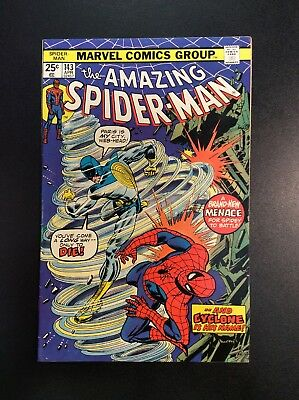 Amazing Spider-Man #143 Bronze Age Marvel Comic Book Conway Andru Cyclone 1975