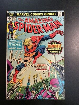 Amazing Spider-Man #153 Bronze Age Marvel Comic Book Wein Andru Romita Kane 1975