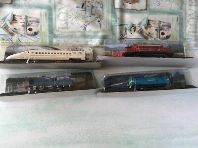 """N Gauge """"Locos of the world"""" AMER Collection -Static Display"""