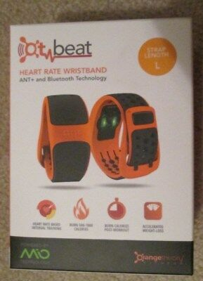 **new In Box**orange Theory Heart Rate Band**size Large**