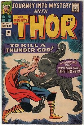 Silver Age Journey Into Mystery (Thor) #118 (1st appearance of The Destroyer)