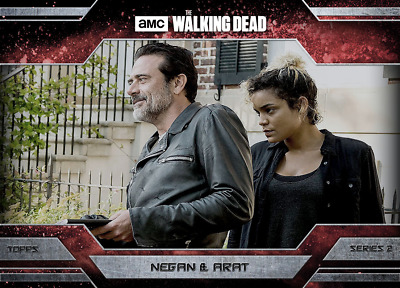 Topps Walking Dead Allegiance Series 2 Negan and Arat Magma [Digital Card]