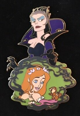 Disney Trading Enchanted Giselle/Queen Narissa Jumbo Pin LE 500 98816