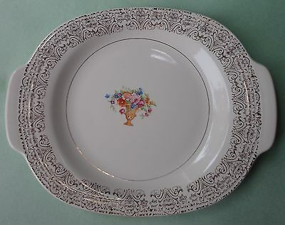 AMERICAN LIMOGES China TRIUMPH Schreckengost TREASURE ISLAND SERVING PLATTER 30s