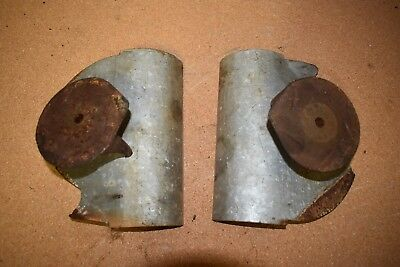 Double Hopper Inserts & Plate Supports for Vintage Cole Duplex Seed Planter