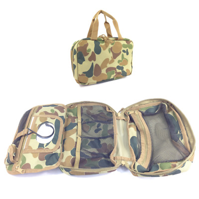 Toiletry Bag Auscam Military Style Hiking Camping Personal Toilet Bag
