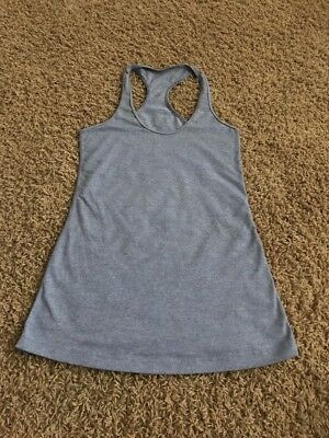 Lululemon Heather Purple Racerback Yoga Tank Top Size 6