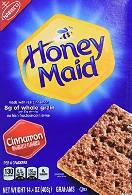 Honey Maid Cinnamon Graham Crackers (14.4-Ounce Boxes, 4-Pack)