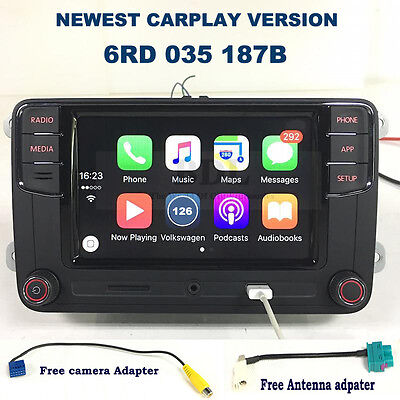 "Carplay RCD330 6.5"" MIB Car Radio Bluetooth For VW Tiguan Golf Jetta Passat Polo"