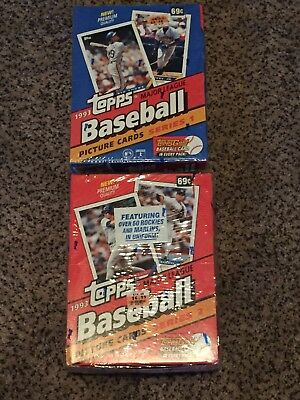1993 Topps Factory Sealed Wax Box Series 1 and ser 2 LOT (Derek Jeter Rookie)