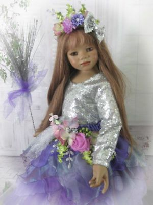 """SALE """"Bewitching Beauty"""" Halloween & Beyond Attire For Your Himstedt Doll."""