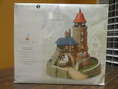 LIMITED EDITION New Dept 56 53445 Seasons Bay Mystic Ledge Lighthouse Village
