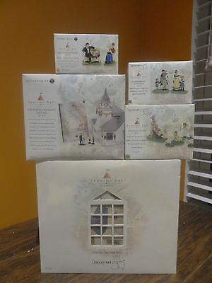 Dept56 53302 Seasons Bay Chapel On The Hill Church Wedding Village Accessory Lot