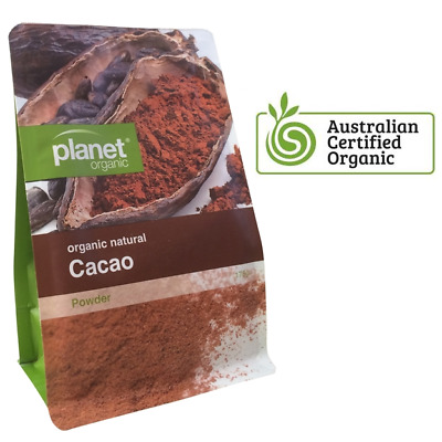 Certified Organic Cocoa Natural 175g ~ Pure 100% Premium Planet