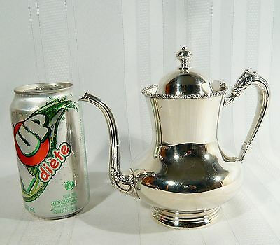Antique Bachelor Silver plate TEA / Coffee POT Standard Silver Co. c.1900
